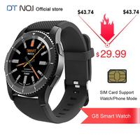 DT NO.1 G8 MT2502 SIM Card Phone Watch Blood Pressure Heart Rate Monitor Call Smart Watch Heart Rate Monitor Smartwatch Bracelet