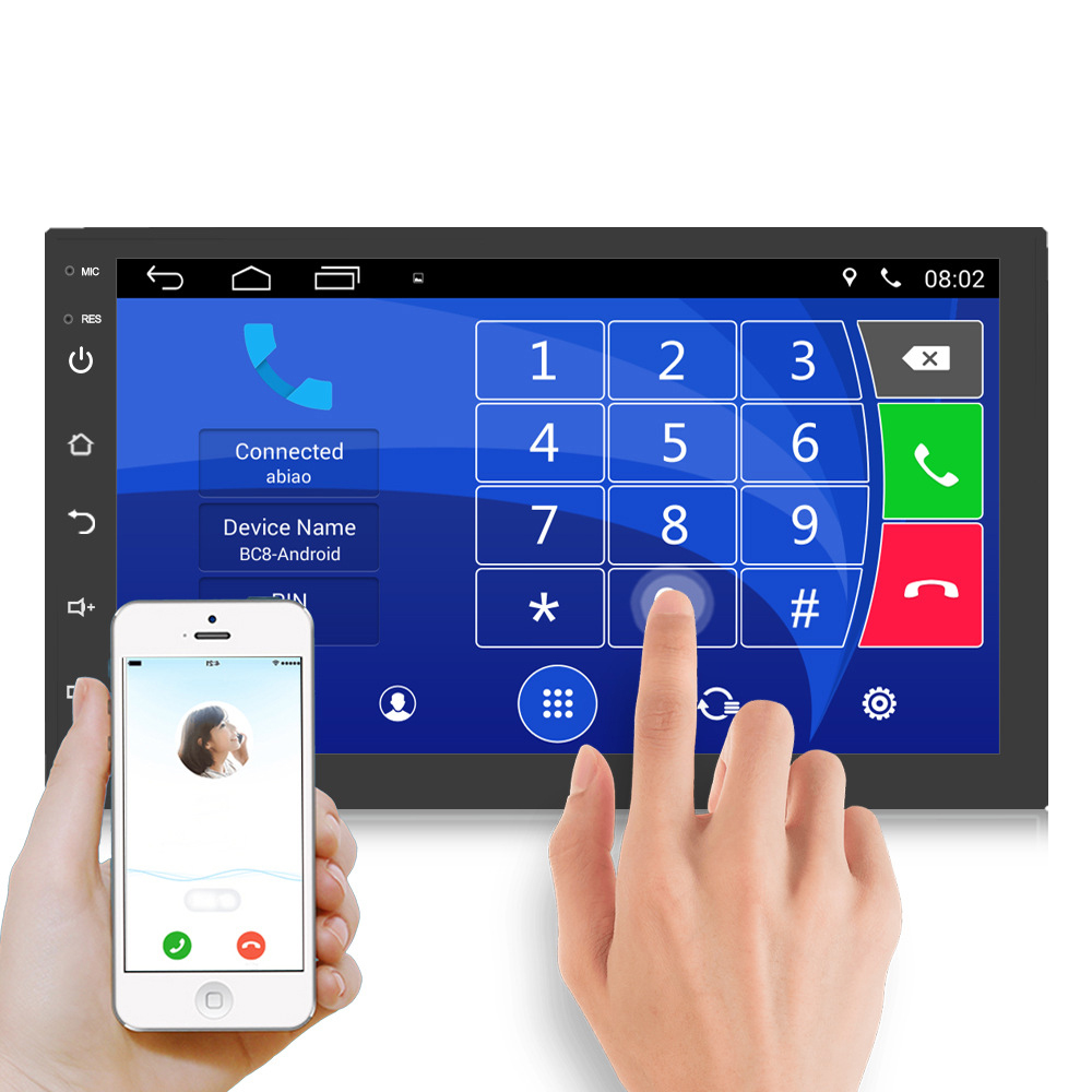 Android 2 din Car radio GPS Navi For Nissan Qashqai juke tiida Universal 2din Multimedia Player For Hyundai I20 Renault Mondeo