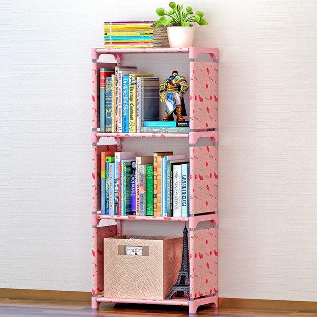Muebles Para Libros Ninos.3 Rejillas De Tela Simple Estanteria De Libros Impresion Creativa
