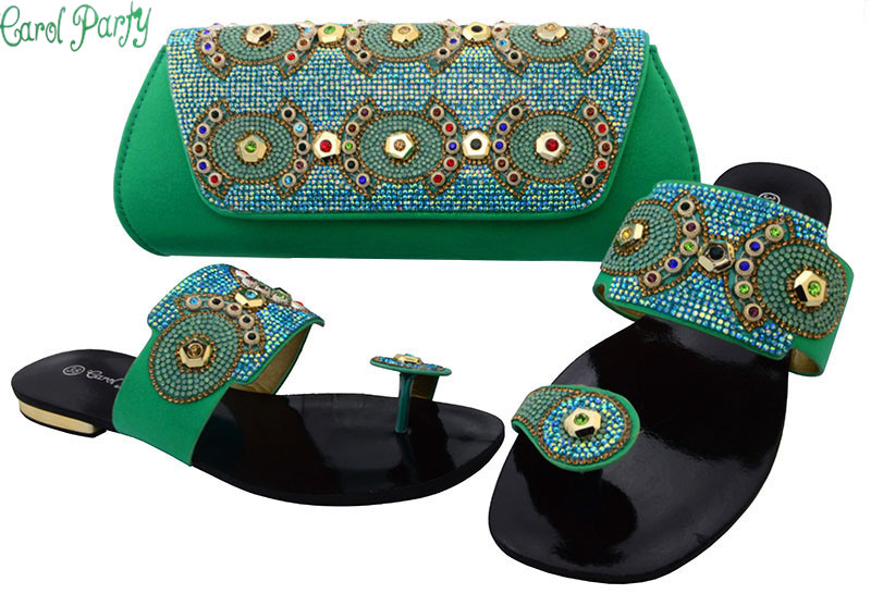 Latest African Women Shoes and Bags Set Women Shoe and Bag To Match for Parties Italian Design Shoes And Bag For Party BCH-37 fashion italy design italian matching shoe and bag set african wedding shoe and bag sets women shoe and bag to match tmm1 41