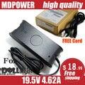 Mdpower для DELL студия 1735 XPS13 XPS1340 XPS16 портативный ноутбук питания зарядное устройство блок 19.5 В 4.62A 90 Вт