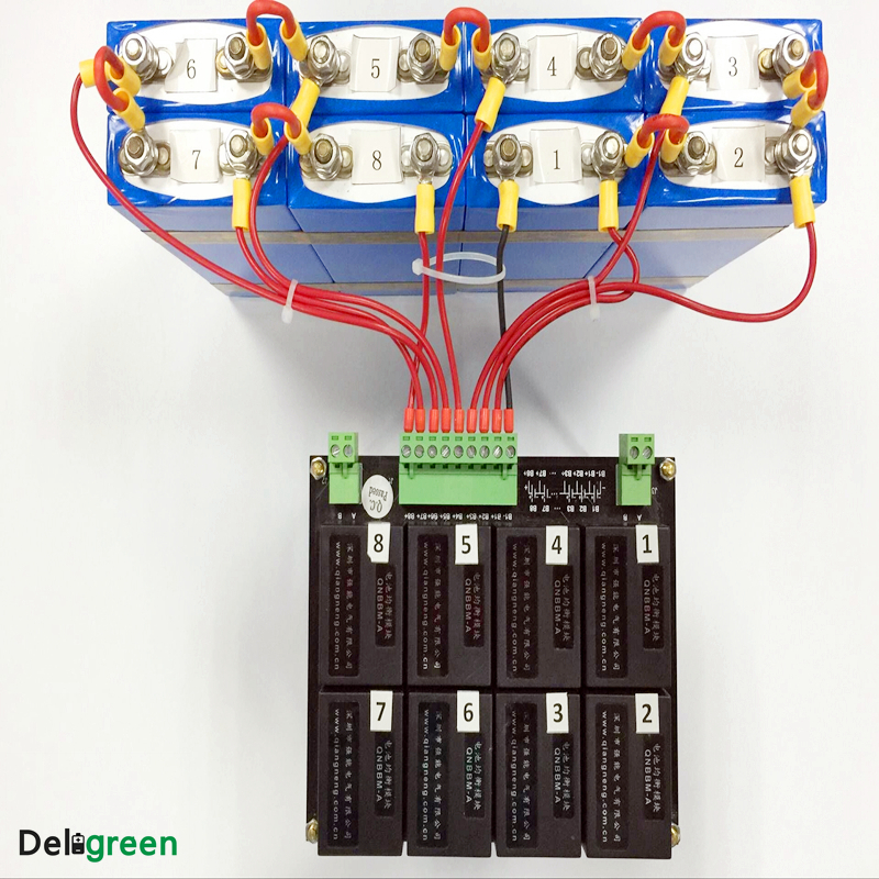 QNBBM 6S ecualizador activo BMS balanceador para LIFEPO4, LTO, polímero, LMO, LI NCM batería de iones de litio 18650 DIY paquete - 4