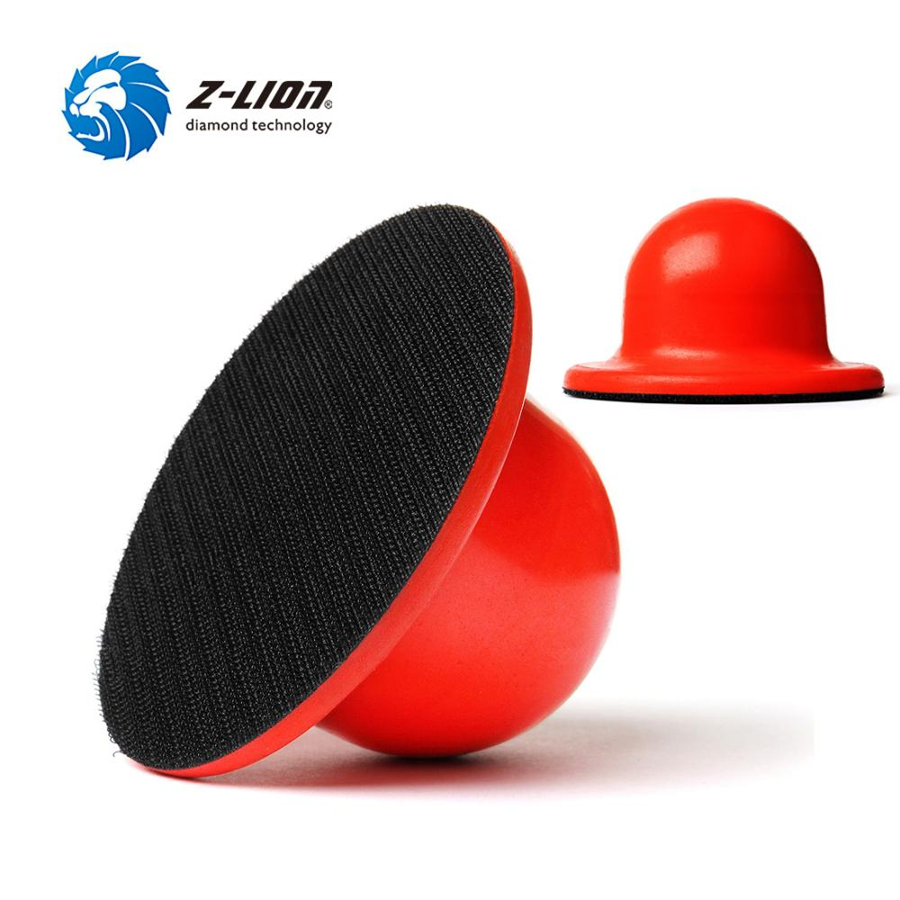Z LION 4 inch Sanding Block Backing Pad 1pc 2pcs Hook And Loop Sandpaper Holder Hand Grinding Block Polishing Tool|Abrasive Tools| |  -