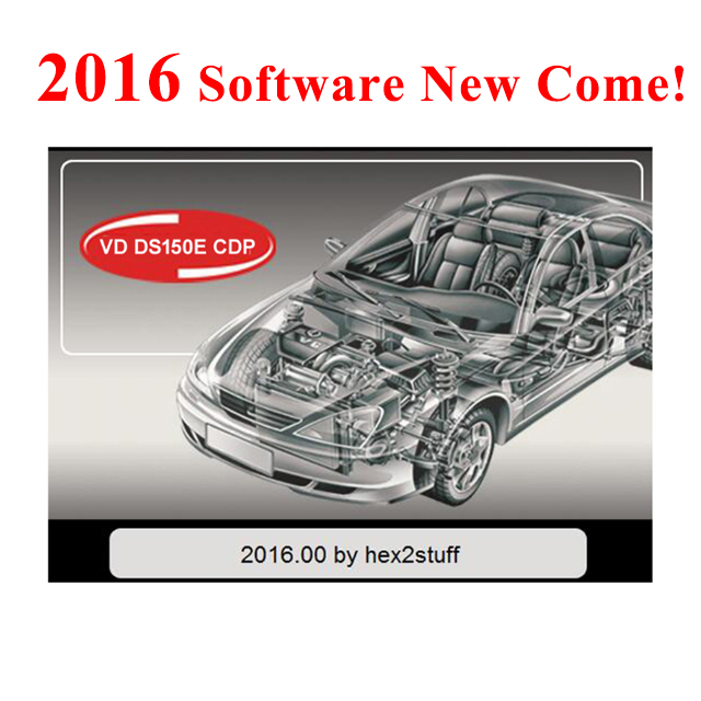 100% New Version Software 2016R0/( 2015.R3 ) Gift With Keygen For Vd Ds150e Cdp Cars On CD/Disk/DVD For Delphis Pro Active Obdii