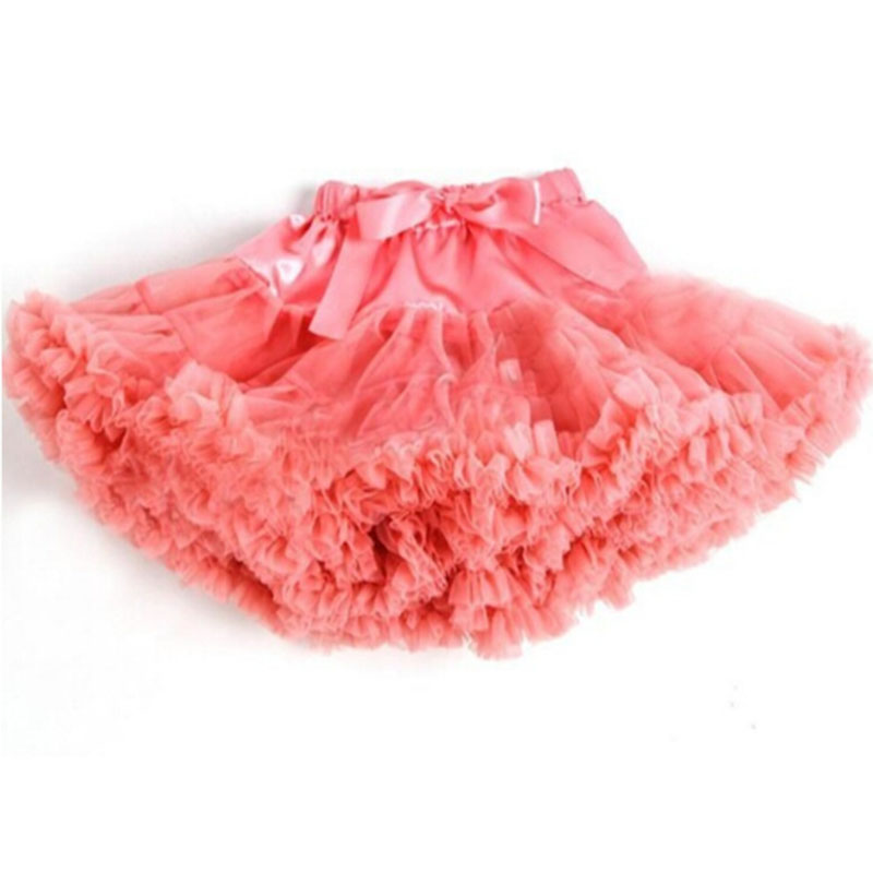 Wholesale Girls Tutu Skirt Summer 2017 Children Tulle Dance Skirts Multilayer Ruffles Colors Party Performance Cake Skirt 0-10T