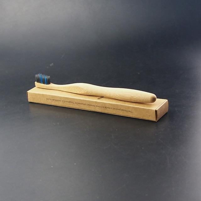 Dr Perfekte 1 Teil Schachtel Bambuskohle Zahnburste Naturfaser