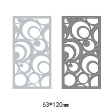 Rectangle heart pattern frames metal steel cut dies DIY Scrapbook Album Paper Card Cutting Dies Stencil for card Crafts
