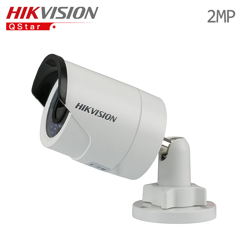 Hikvision English Surveillance Camera outdoor DS-2CD2020F-I 1080p POE Onvif IR Bullet outdoor Camera IP 30m CCTV Camera IP67 original hikvision 1080p waterproof bullet ip camera ds 2cd1021 i camera 2 megapixel cmos cctv ip security camera poe outdoor