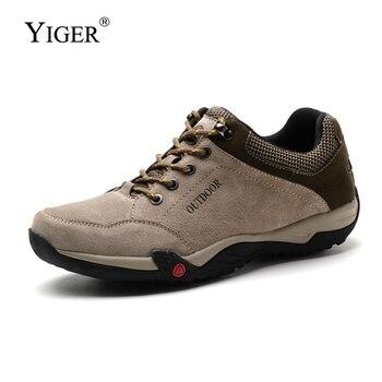 Casual Winter Waterproof Non-slip Men Travel Shoes