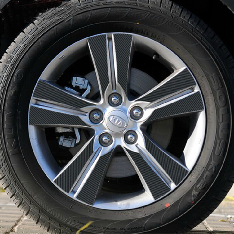 17 Inch Carbon Wheel Mask Stickers For Sportage R