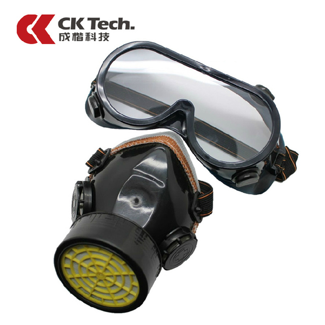 ck tech dust mask soft plastic dual valve respirator protective mask