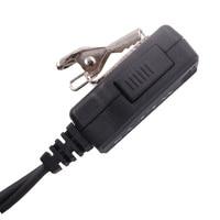 מכשיר הקשר מיקרופון אפרכסת מכשיר הקשר Headset לקבלת Motorla 2 פינים רדיו (4)