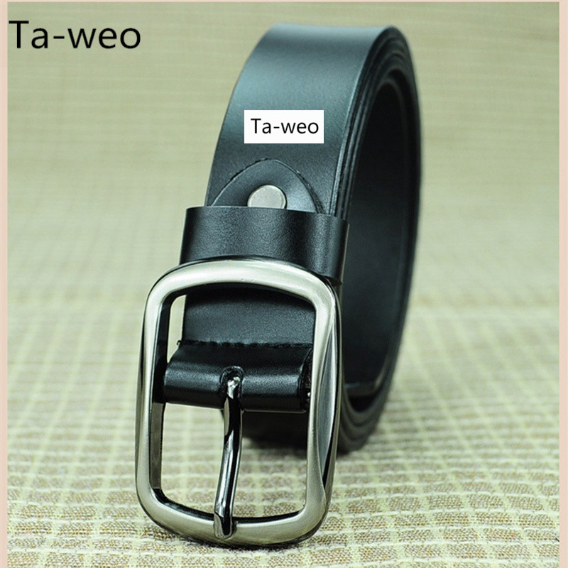 New Female Belts Fashion Belts For Women Pin Buckle Genuine Leather Belt High Quality Cinto Feminino Waistband