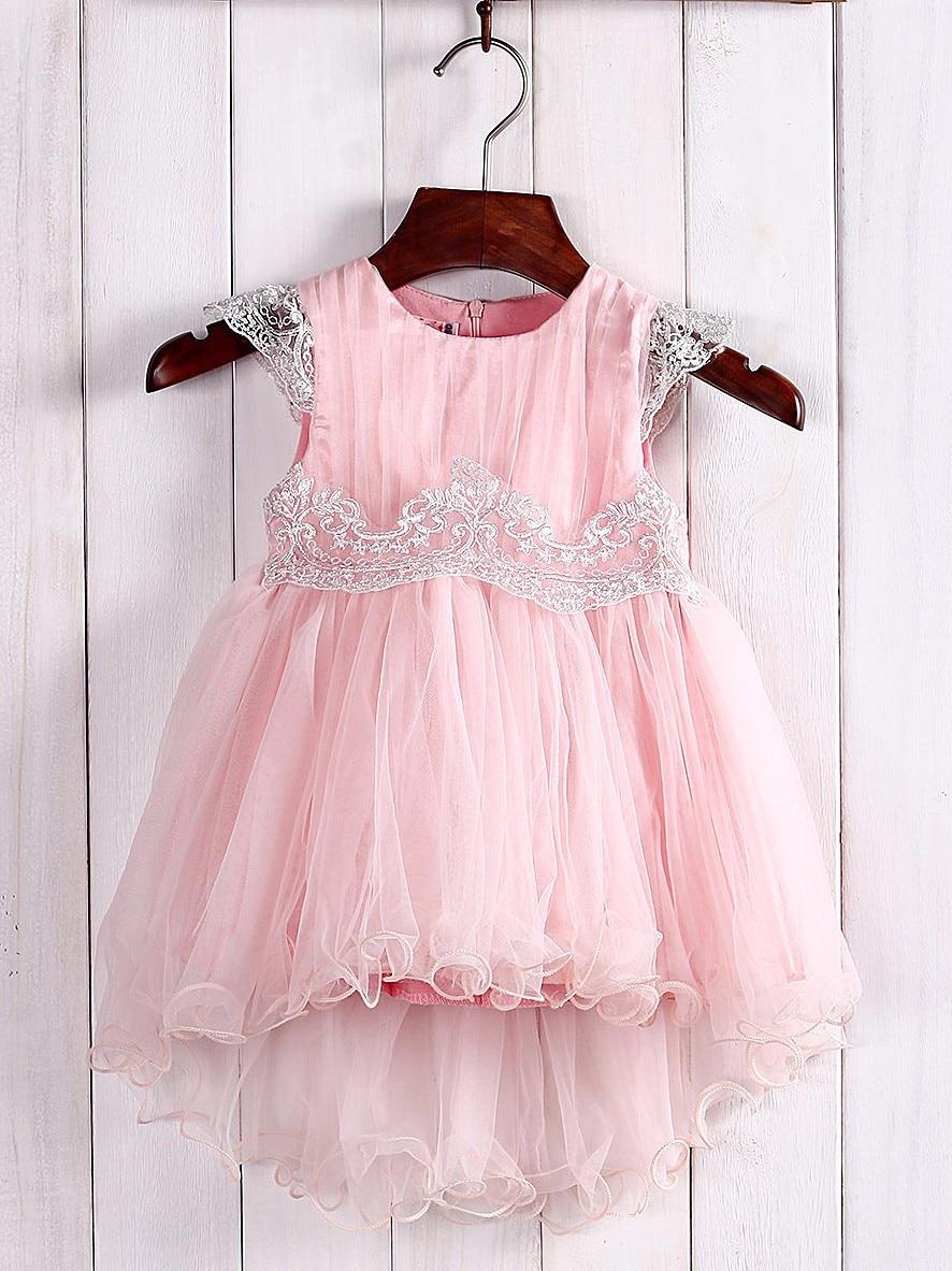 Magnífico Bebé Vestido De Boda Adorno - Colección de Vestidos de ...