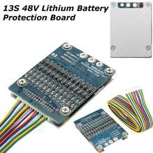 Hot Sale 1PC 13S 48V Li-ion Lithium Cell 20A 18650 Battery Protection BMS PCB Board w Balance Board Module