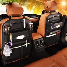 Class A car storage bag creative car organizer car seat cover Multifunctional seat back bag dirt-resistant easy clean freeship