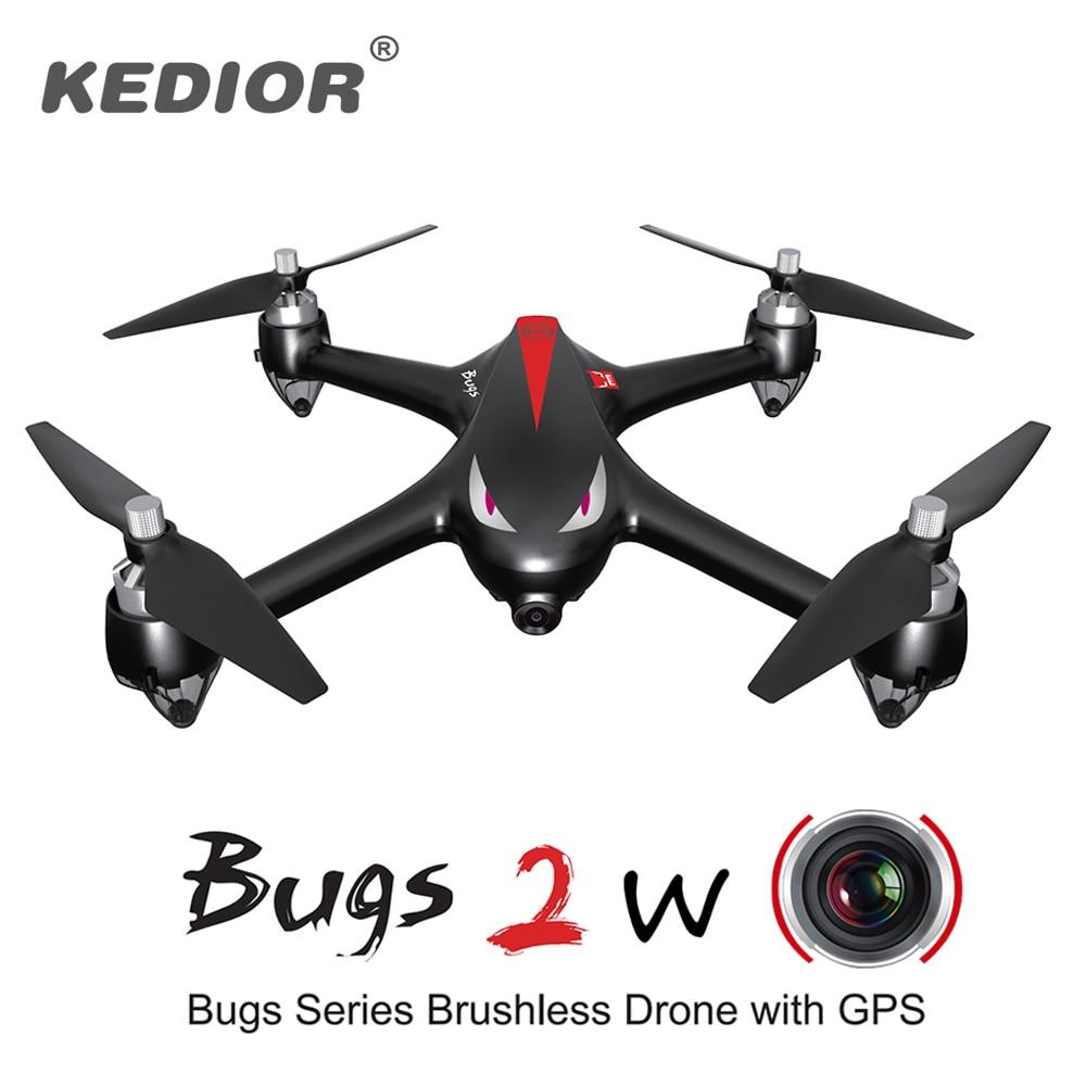 HD Video drone profesional sin escobillas quadcopter con 1080 P 5g Cámara WiFi, 2.4 GHz con GPS 1 km Control remoto distancia