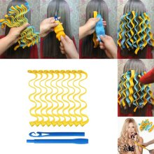 #Magic Soft Hair Curlers DIY Hair Salon Curlers Rollers Tool Large for Wet or Dry Hair DIY snail Wave Curler Hair Styling Tools
