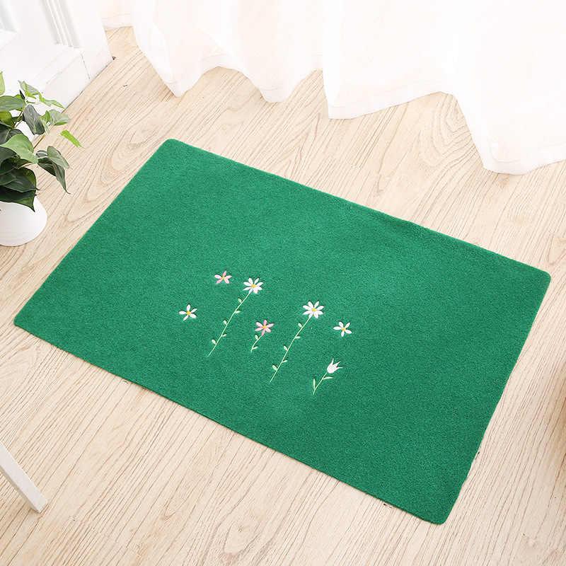 80*120cm bienvenue imperméable porte tapis dessin animé mignon Totoro cuisine tapis chambre tapis décoratifs escalier tapis décor à la maison artisanat
