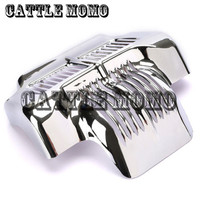 Motorcycle Chrome Oil Cooler Cover For Harley Touring/TRIKE 2011 2015 2012 2013 2014 Motorbike REGULATOR COVER Oil Cooler Cover