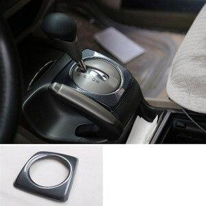 Image 3 - 14 adet Honda Civic 8th Gen 2006 2011 ABS karbon Fiber tarzı araba iç dekor kapak Trim CD panelli kapı kol dayama araba Styling