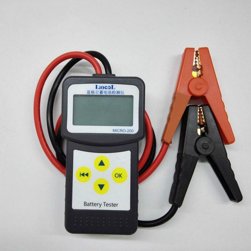 LANCOL MICRO-200 Battery Detector Battery Detector Car Battery Life Detector
