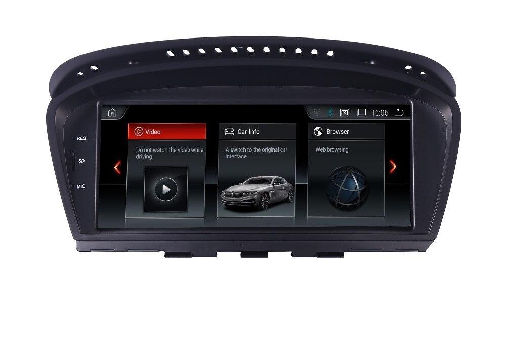 2018 Nouveau Android 7.1 autoradio lecteur multimédia pour BMW Série 5 E60 E61 E63 E64 E90 E91 E92 CCC CIC Soutien iDrive Parking