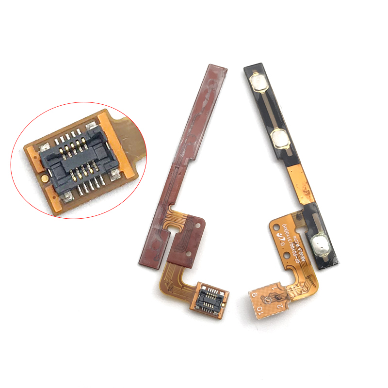 New Compatible For Samsung Galaxy Tab 2 7.0 P3100 P3110 GT-P3100 Power Switch On Off Key Volume Up Down Button Flex Cable
