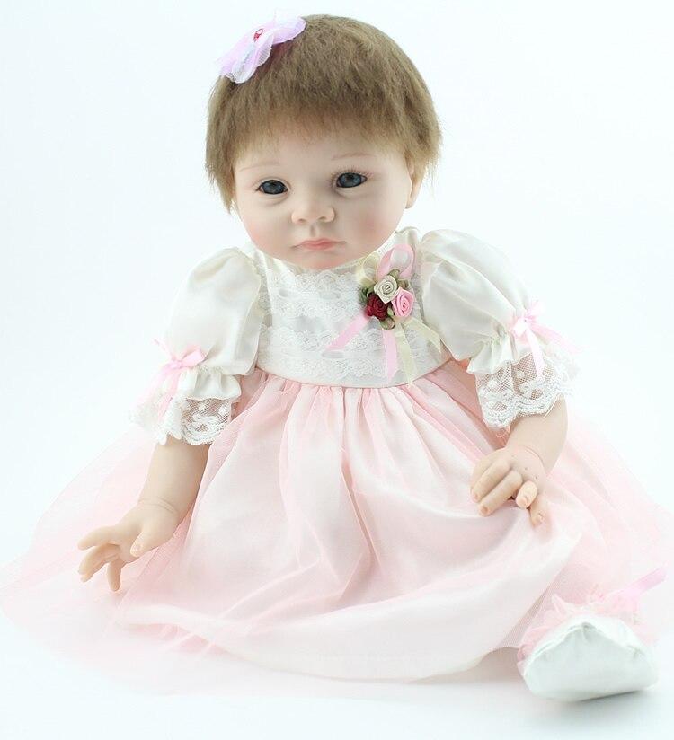 22 Inch Real Live Baby Dolls Soft Silicon Vinyl Newborn