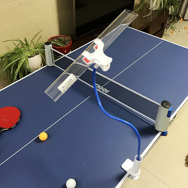 Professional Table Tennis Training Machine Robot Ping Pong Ball Serve Practice Tool