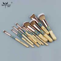 Anmor Spazzole di Trucco 12 Pcs Professionale Make Up Pennello Sintetico Dei Capelli di Bellezza Ombretto Set Prodotti di Base in Polvere Cosmetici Kit Tools