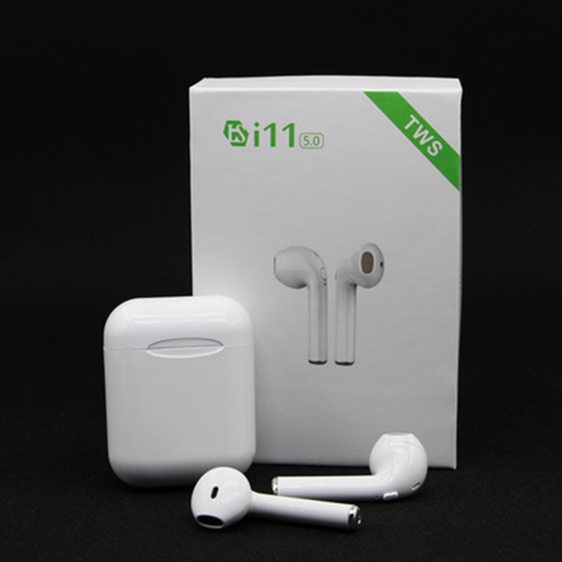 i11 <font><b>tws</b></font> airpots Bluetooth earphones wireless headphone Stereo earbuds with mic Sport Headset PK AP2 i10 i100 <font><b>i200</b></font> <font><b>tws</b></font> for iphone image