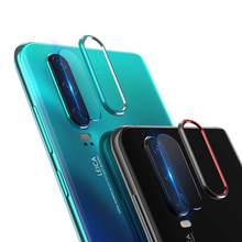 EXUNTON For Huawei P30 Pro Lite Back Camera Aluminum Ring Case Protector Lens Circle Guard Tempered Glass
