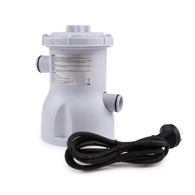 Pompe de filtre de piscine électrique pour le nettoyage des piscines 220 V WHShopping
