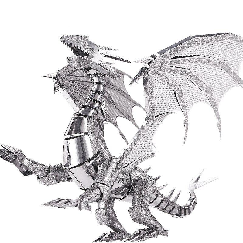 Puzzles crianças brinquedos infantis melhores presentes Estilo : Dragon Flame