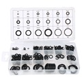 New Universal tool 18 Sizes 225 x Rubber O Ring O-Ring Washer Gasket Automotive Seals Assortment Black For Car