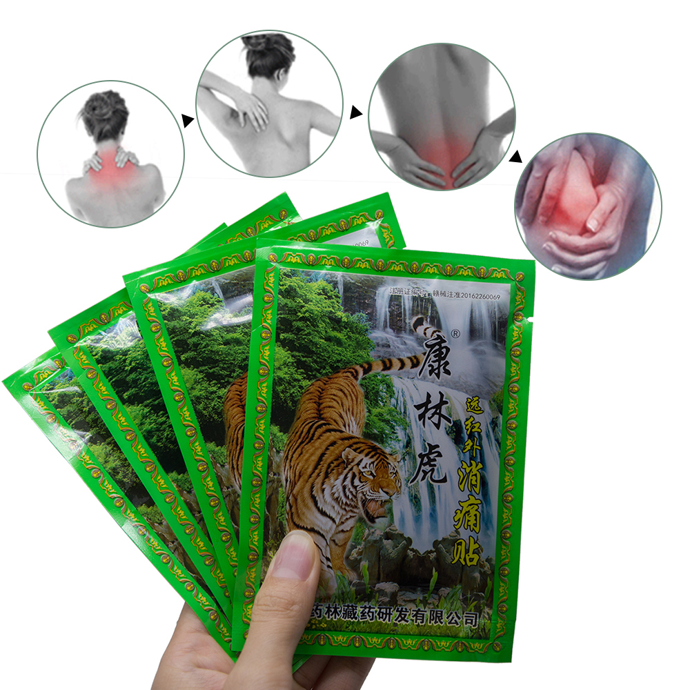 8Pcs/Bag Neck Rear Back Body Shoulder Pain Relaxation Pain Plaster Tiger Balm Joint Pain Patch Killer Body Back Relax JMN086