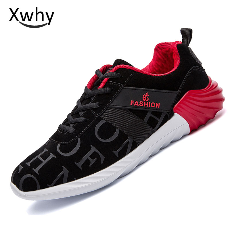 2018 New Sport Sneakers running shoes Sport Men Shoes Lace Up Training Sneakers Mesh Athletic Sneakers Runners ...