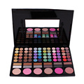 Fashion Hot Sale 78 Color makeup eyeshadow palette cosmetics blush with eye shadow brushes Makeup Palette