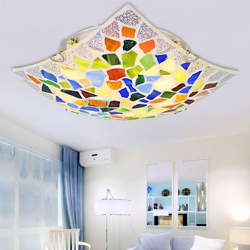modern Surface Mounted Shell Ceiling Lamp Led Ceiling Lights For Living Room  90-260v AC 30CM/4OCM  FREE SHIPPING Y1006 цены онлайн