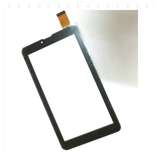 Tempered Glass + New touch screen For 7 Supra M74AG 3G Tablet Touch panel Digitizer Glass Sensor Replacement Free Shipping original touch screen panel digitizer glass sensor replacement for 7 megafon login 3 mt4a login3 tablet free shipping