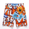 Hot Sale Men's summer cotton shorts printing men personalized beach shorts quick-drying shorts loose  shorts
