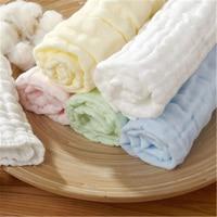 Soft baby towel хлопок новорожденный ребенок полотенце муслин 1 шт. новорожденный салфетки мягкий материал детские нагрудники хлопка милый 70a0072