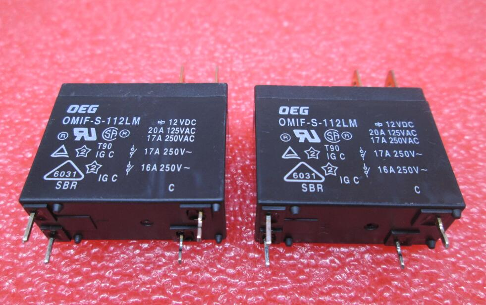HOT NEW relay OMIF-S-112LM OMIFS112LM OMIF-S-112LM-12VDC 12VDC DC12V 12V DIP4 free shipping цена 2017