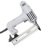 220V F30 Electric Straight Nailer Device Woodworking Wrench Kit Portable Nail Gun Nail Stapler Power Tool Mayitr