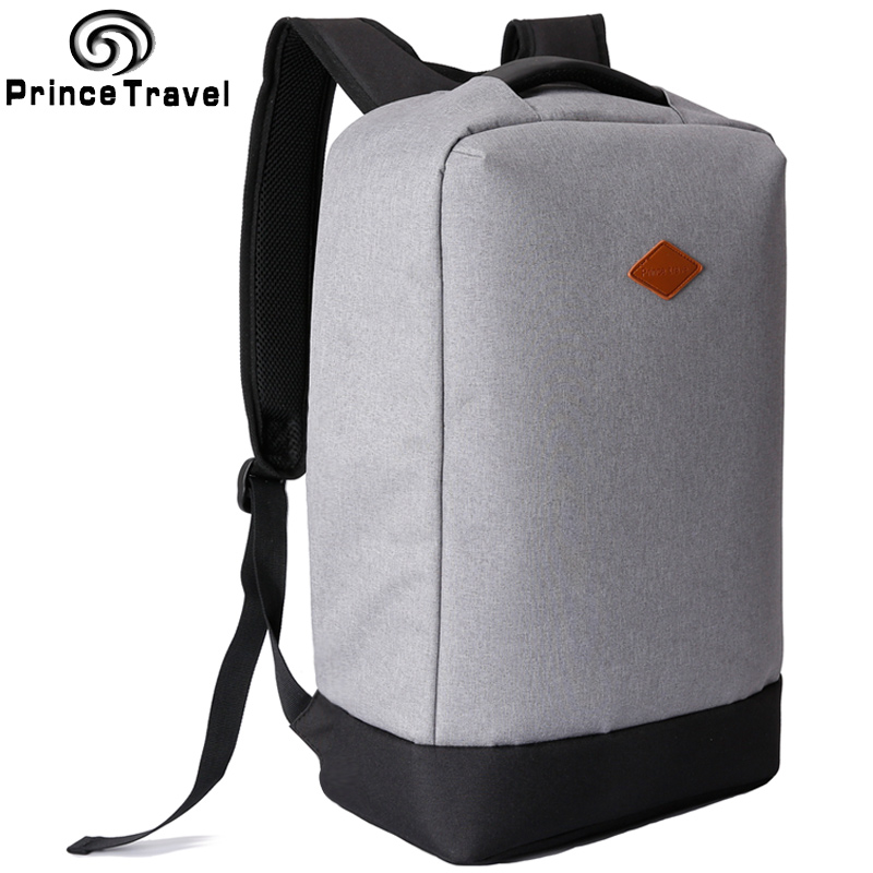 Prince Travel 2017 New Backpack 15.6 Inch Laptop Backpack for Men and Women Anti Theft Teenagers School Bag Couple Mochila dtbg backpack for men women 15 6 inch notebook laptop bags anti theft men s backpacks travel school back pack bag for teenagers
