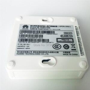 Image 5 - 100% New, Free shipping 6Pcs Huawei hg8310m fiber optic onu gpon modem 1GE gpon ont router English firmware gpon ont device
