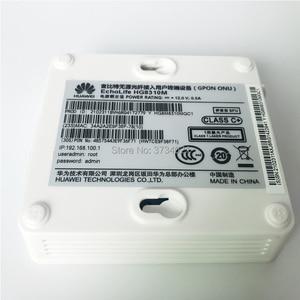 Image 5 - 100% Nieuwe, gratis verzending 6Pcs Huawei hg8310m glasvezel onu gpon modem 1GE gpon ont router Engels firmware gpon ont apparaat