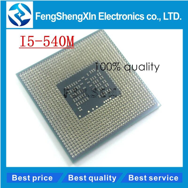 New I5-540M CPU 3M Cache 2.53 GHz to 3.066 GHz i5 540M PGA988 processor Compatible HM57 HM55 QM57