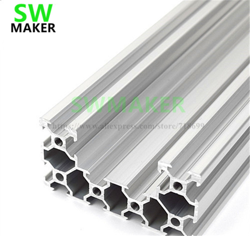 Openbuilds C-beam Linear Rail  40x80mm,silver Anodized 250mm 500mm 1000